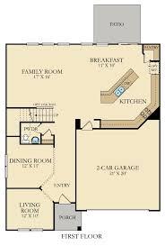 Georgetown Floor Plan Georgetown New Home Plan In Lindera Preserve At Cane Bay