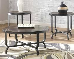 round wood and metal end table round wood and metal coffee table medium size of round wood and
