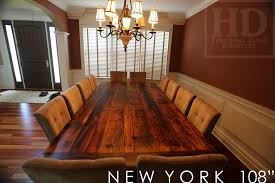 how to finish a table top with polyurethane large reclaimed wood harvest table in new york state blog