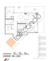Yorkdale Floor Plan Avro Condos Talkcondo
