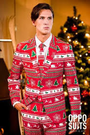 christmas suits suits with an tacky christmas sweater pattern the