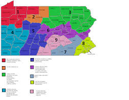 Pa Counties Map Product And Rate Require