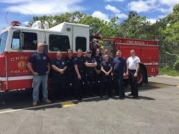 lexus of westport service department onset fire department firefighters blaze through driver training