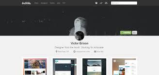 show dn new profiles on dribbble u2013 designer news