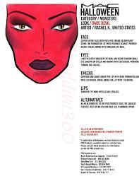 Mac Halloween Makeup by Halloween Mac Face Charts Macfacecharts Com