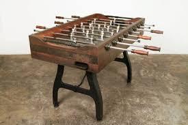 reclaimed wood game table foosball game table in reclaimed hardwood by nuevo hgda242 game