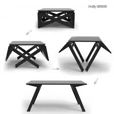 Coffee And Dining Table In One The Mk1 Transforming Coffee Table Can Convert Into A Dining Table