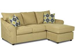 Klaussner Sectionals Klaussner Folio Sofa With Reversible Chaise Lounge Olinde U0027s