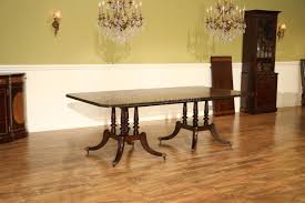 Dining Room Table That Seats 10 by Mahogany Dining Table With Inlay Seats 10 12 People Birdcage