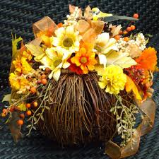 fall table arrangements best fall floral arrangements products on wanelo