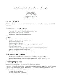 resume summary of qualifications for a cna objective summary resume