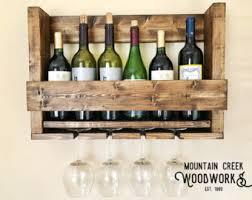 wine shelf etsy