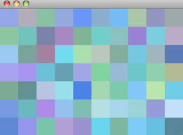 color pattern generator algorithm to randomly generate an aesthetically pleasing color