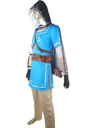 Zelda Halloween Costumes Aliexpress Buy Legend Zelda Breath Wild Link