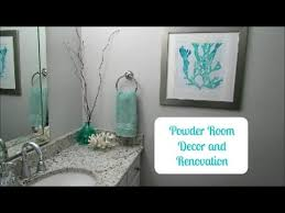 Powder Room Decor Powder Room Decor And Renovation Before And After Youtube