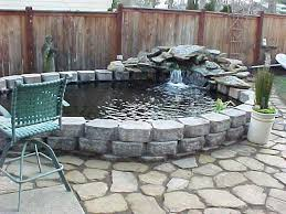 Small Backyard Ponds And Waterfalls by Best 25 Above Ground Pond Ideas On Pinterest Pond Ideas Small
