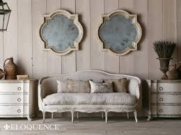canapé cottage cottage chic store eloquence canape sofa seraphine gesso