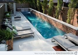 Lap Pool Designs Pool Design And Pool Ideas - Backyard lap pool designs