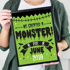 Pregnancy Shirts Halloween by Halloween Printable Pregnancy Announcment We Created A Monster