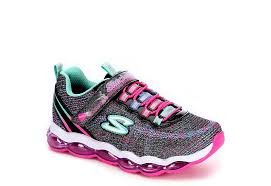 skechers light up shoes on off switch black skechers girls glimmer lights kids rack room shoes