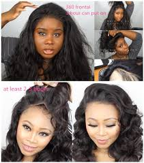 sew in with lace closure 360 lace frontal vs lace frontal which one is better unice