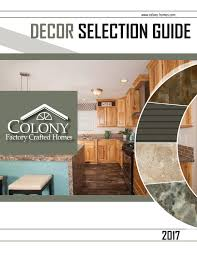 Colony Homes Floor Plans by Colony Homes Decor 2017 By The Commodore Corporation Issuu