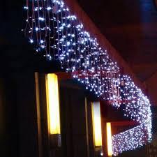 6m x 1m 256 led outdoor black curtain light tree