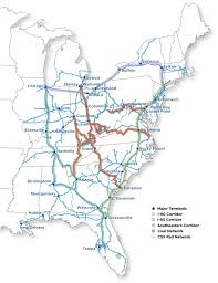 csx railroad map csx 12 28 2012 10k