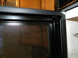 Replacement Oven Door Glass by Cleaning Between The Mesh Screen And Glass Door On Your Microwave