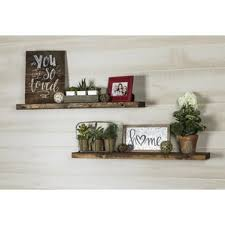 livingroom shelves living room wall display shelves you ll wayfair