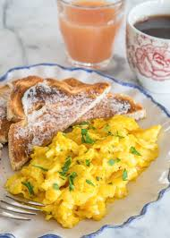 How To Make Really Good Scrambled Eggs How To Make Soft Creamy Scrambled Eggs Kitchn