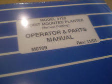 Kinze Planter Parts by Kinze Antique U0026 Vintage Heavy Equipment Manuals Ebay