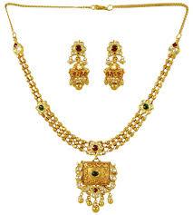 gold antique necklace set images 22k gold antique necklace set stan24369 sets necklace jpg