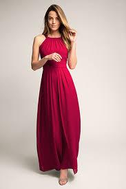 maxi kjole esprit silkeblød maxi kjole i chiffon i esprits online shop