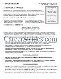 District Manager Sample Resume by Regional Sales Manager Resume Enwurf Csat Co