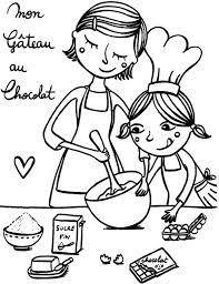 coloriage cuisine résultat de recherche d images pour thème chocolat maternelle