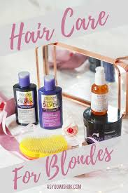 Hair Care For White Blonde Hair