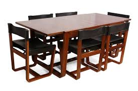 Mid Century Modern Dining Room Table Mid Century Modern Rosewood Dining Table And Chairs By Gunther