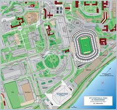 Missouri State Campus Map by Auburntigers Com Auburn University Official Athletic Site