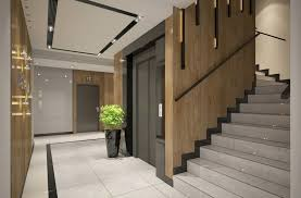 Entrance Hall Ideas Interior Design Of Apartments Building Entrance Hall Area 3d