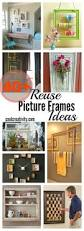 creative reuse old picture frames into home decor ideas