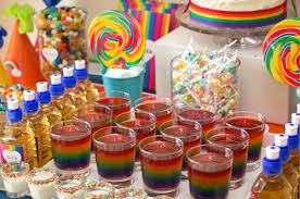 party ideas for kids rainbow party theme party ideas birthday party ideas kids