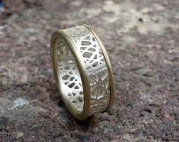 Mens Wedding Ring Metals by Braided Wedding Band Etsy