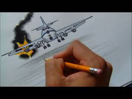 how to draw a burning plane hd nelson harrinsson youtube
