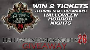 universal orlando halloween horror nights 2015 collection how to win halloween horror night tickets pictures win