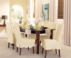 Diy Dining Room Chair Covers Dining Room Chair Slipcovers Dining Room Chair Covers Pottery Barn