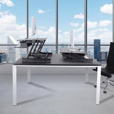 office desk adjustable height adjustable height stand up desk computer workstation lift monitor