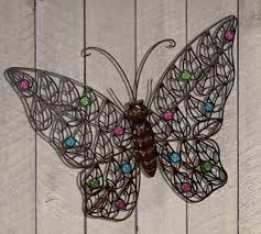 impressive butterfly outdoor wall decor 42 butterfly outdoor wall