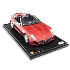 toy ferrari ferrari 599 sa aperta a handmade model at 1 8 scale red models