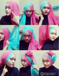 tutorial jilbab ala ivan gunawan tutorial hijab paris dua warna untuk kebaya tutorial hijab paling